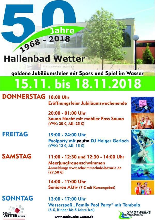 50 Jahre Hallenbad